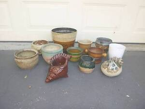A collection of gardening pots Newcastle Newcastle Area Preview
