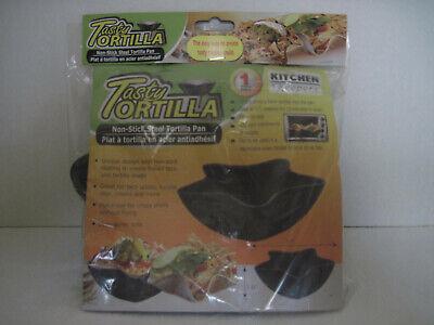 Tasty Tortilla Non Stick Oven Baking Pan Taco Salad Bowl Shells Maker Kitchen Non Stick Tortilla