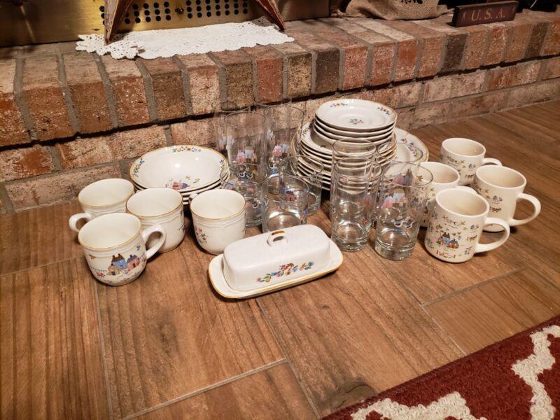 international stoneware japan heartland 36 pc dining set