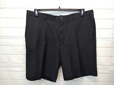 Grand Slam Belt (Size 42 Grand Slam Performance Golf Shorts Big Mens Black Zipper Pocket Belt )