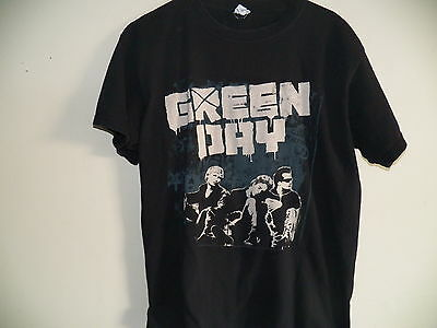 GREEN DAY 2009 Black USA Tour Rock Concert T-Shirt Size Mens Large