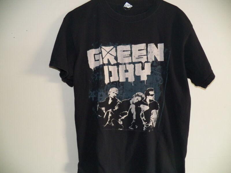 GREEN DAY 2009 Black USA Tour Rock Concert T-Shirt Size Mens Large