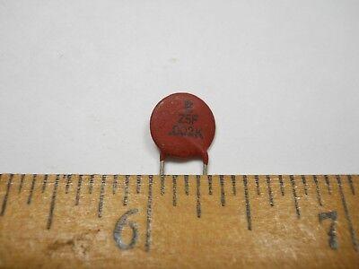 270 pf 50 Volt +//-10/% Disc Ceramic Capacitor QTY 25 ea D61 NOS,New Old Stock