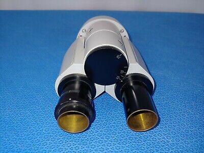 Zeiss Compound Binocular Microscope Head No Eyepieces 46 70 86 Kf 2 Kf2 Style