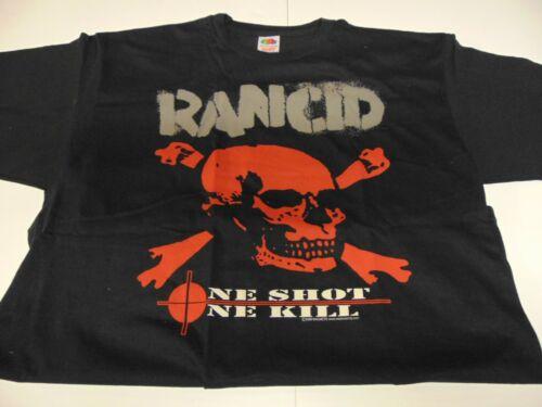 Rock T Shirt ~ Authentic Vintage RANCID ONE SHOT ONE KILL ~ XL ~ NEW