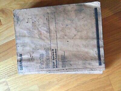 Caterpillar Cat 950f 950 Series Ii Wheel Loader Parts Book Manual 5sk