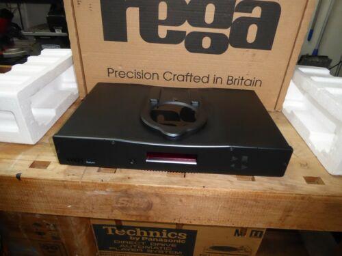 REGA Saturn CD Player and DAC with Remote and original box