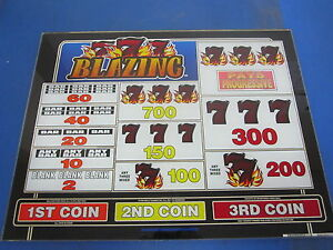 blazing 777 slot machine used for sale