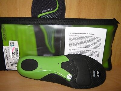 BOOTDOC Insoles Stability 7 Low Arch Gr.S (36-37) NEU OVP