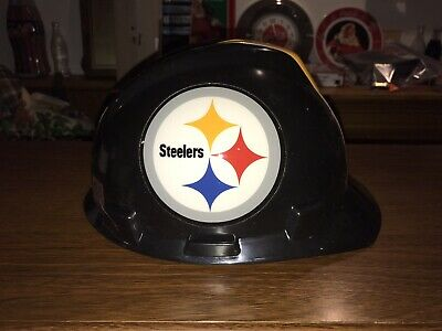 Pittsburgh Steelers Msa Nfl Hard Hat With One Touch Suspension Medium New