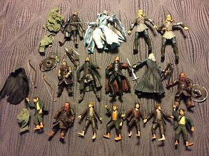 Lord Of The Rings Figures Lot
