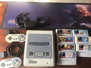 Super Nintendo with 7 games Kings Park Blacktown Area Preview