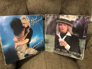 (2) Rod Stewart Record Albums