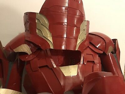 ALL PLASTIC IRON MAN MARK 45 - ABS PIECE COSPLAY Costume Adult Armor