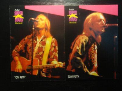 Tom Petty US ProSet Super Stars 2 MusiCards: #217 & #218