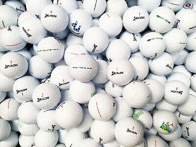 36 x SRIXON GOLF BALLS MIX GRADE A/B AD333 DISTANCE Z-STAR SOFT FEEL ULTRASOFT