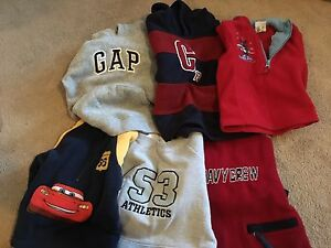 Lot of boys sz 2 toddler - 62  pcs of clothing + winter jacket