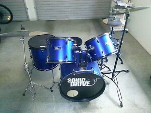 Sonic Drive Drum Kit with Electronic Drum Tuner Thornlands Redland Area Preview
