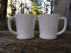 Pair of Fire-King Mugs 1950s