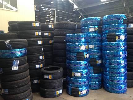 cheap passenger,4WD, commercial, mud terrain, truck, ute tyres Tottenham Maribyrnong Area Preview