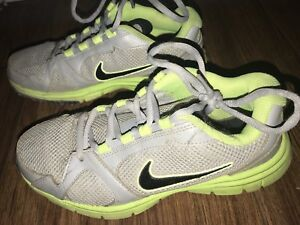 Lime green Nike sneaks