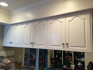 FREE cupboards cabinets double sided doors pick up ASAP