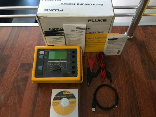 FLUKE 1625-2 ADVANCED Earth/Ground Tester GEO