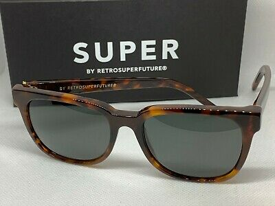 RetroSuperFuture 3DR People Classic Havana Frame Size 53mm Sunglasses (Retrosuperfuture People Sunglasses)
