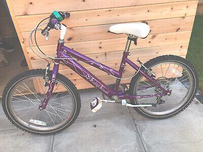 """Girls Purple Raliegh Krush Bike 13""""frame 20"""" Wheel 6-8yrs?"""