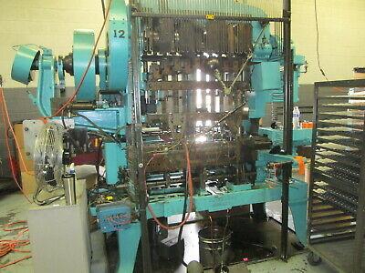 Waterbury Farrel Model 1510 Eyelet Press Wstripper Forks 7.5 Hp Drive Nice