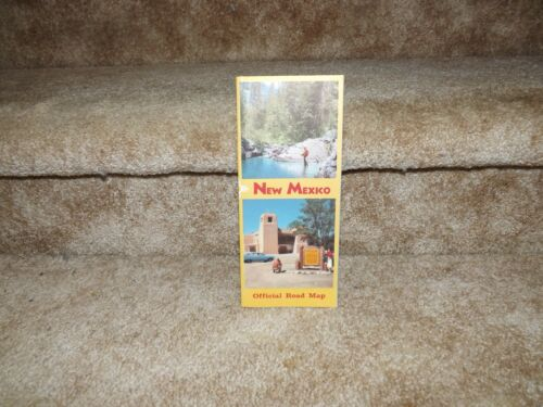 NEW MEXICO OFFICIAL ROAD MAP (1958) EXCELLENT CONDITION