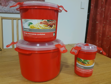 Microwave Cooking Containers