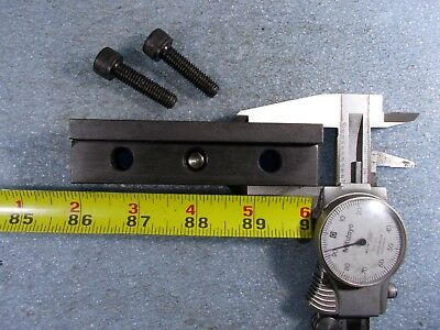 Lathe Tool Holder Block Turret Face Wedge Clamp 1 Set Of 2 Pieces