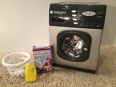 """American Girl Doll 18"""" Toy Hotpoint Washing Machine Casdon Cleaning Accessories"""