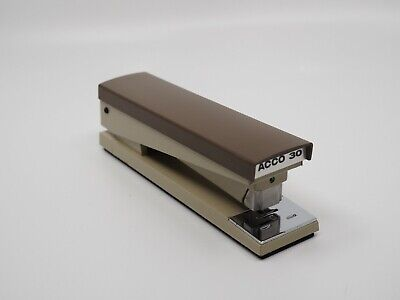 Vintage Acco 30 Stapler Model 30 Made In Usa Metal Construction Almost Mint