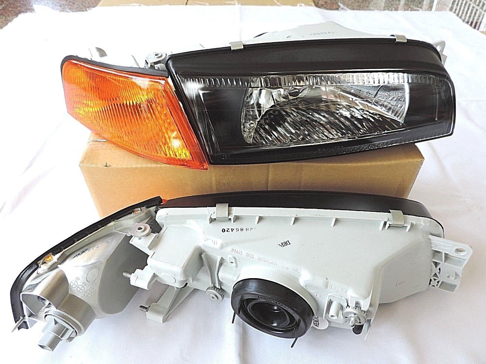 Mitsubishi 97-01 Mirage amber orange corner lights lamps Lancer Evolution 4 Evo