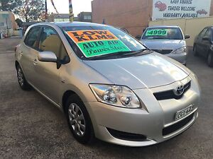 2008 Toyota Corolla Hatchback AUTO 120000klms log books Clyde Parramatta Area Preview