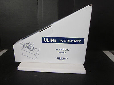 Nos Uline Shipping Tape Dispenser Multi-core H-813 Unused