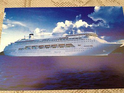 SET of 5 Collectable Postcards Princess Cruise Lines Regal Princess #2