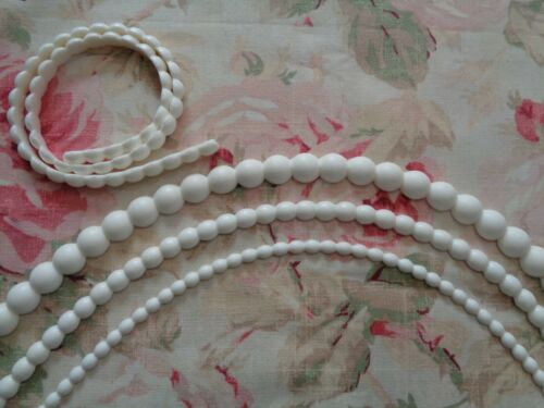Chic Flexible Bead Pearl Molding 3 SIZES Furniture Applique Architectural Trim