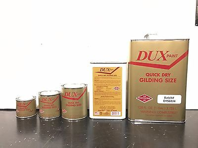 Quick Set/ Fast Dry Oil Based Gold Gilding Size- Gilding Adhesive-Gold Leaf Size - Fast Dry Oil