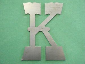 Metal Letter K Home Decor Ebay