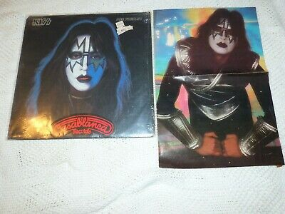 KISS SOLO ACE FREHLEY SEALED FACTORY SHRINK 1978 1ST PRESSING ALL INSERTS