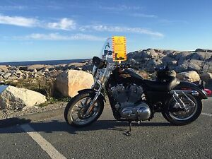 Reduced price 2008 Harley Sportster 883 very low km