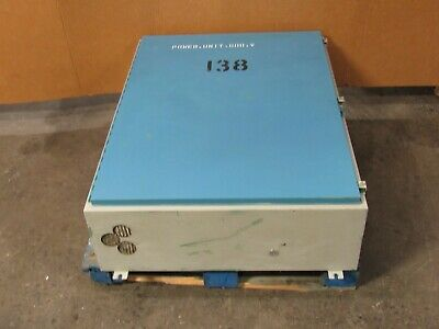 Hoffman 36x48x12 Electrical Enclosure Box Panel W Backplate - Used