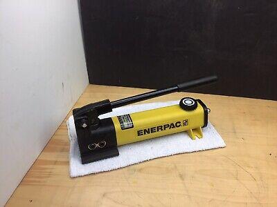 ENERPAC P-142 HYDRAULIC HAND PUMP 10,000PSI 1/4
