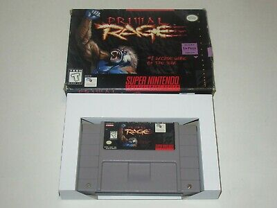 Primal Rage (Super Nintendo SNES, 1995) segunda mano  Embacar hacia Argentina