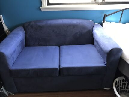 Blue two seater couch. Fantastic Furniture two seater  Somerset  couch    Sofas   Gumtree