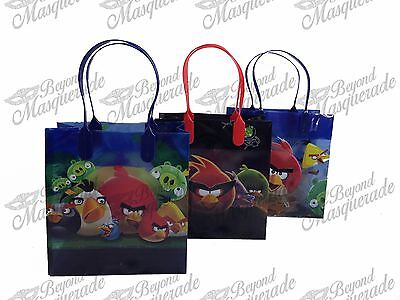 Rovio Angry Birds Party Favor Supplies Goody Loot Gift Bags [12ct] - Angry Bird Party Supplies