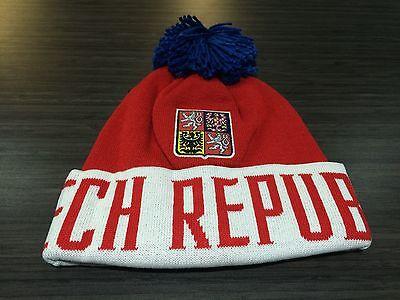 2016 World Cup of Hockey Czech Republic Pom Toque Beanie Cap Hat Winter  Cuffed e38ec035d4cb